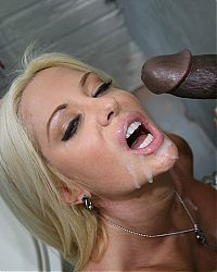 gloryhole blowjobs9 tn Sexy blonde Helly Mae Hellfire milks a black cock in a restroom