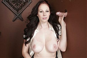 glory hole fetish5 tn Busty hottie Gianna Michaels knows what to do with a glory hole cock
