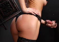 02 Filthy Sheena Shaw gladly nibbles on a faceless cock in the confessional